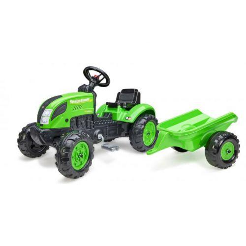 Falk Country Farmer jongens groen traptractor