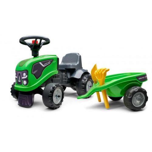 Falk Baby Deutz Ride On jongens groen tractor