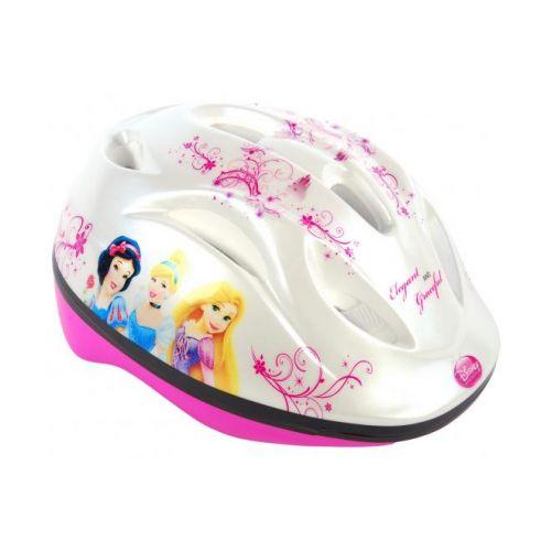 Disney Princess fietshelm wit roze 51-55 cm