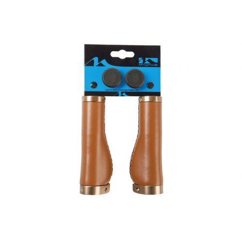 Handvat Perfect Grip 135mm 410622 Leder Bruin