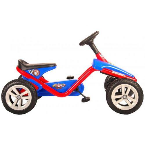 Paw Patrol Go Kart mini rood blauw