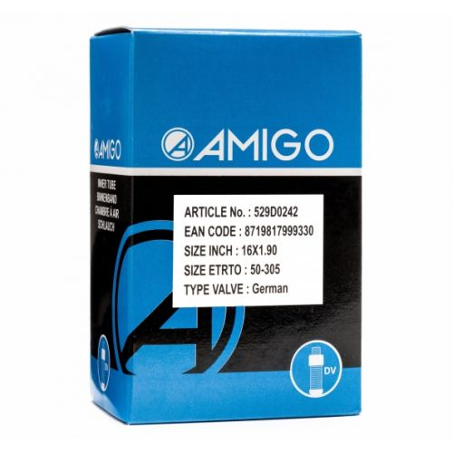 Binnenband 16 x 1.90 (50-305) DV 45 mm