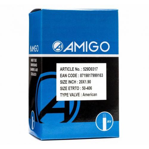 Binnenband 20 x 1.90 (50-406) AV 48 mm