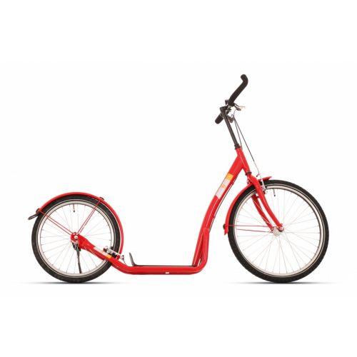 step Bike2Go 24 Inch Unisex V-Brakes Rood