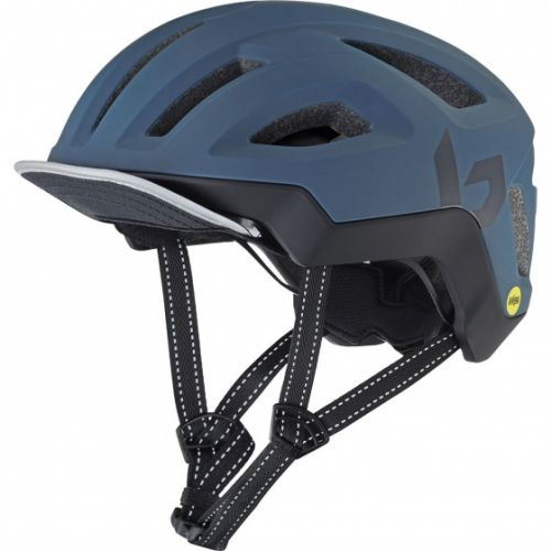 fietshelm React Mips EPS marineblauw maat 52-55 cm