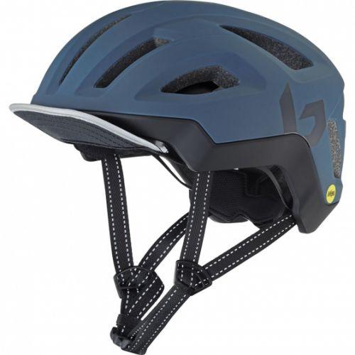 fietshelm React Mips EPS marineblauw maat 55-59 cm