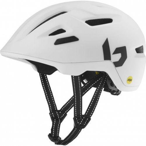 fietshelm Stance Mips matwit maat 52-55 cm