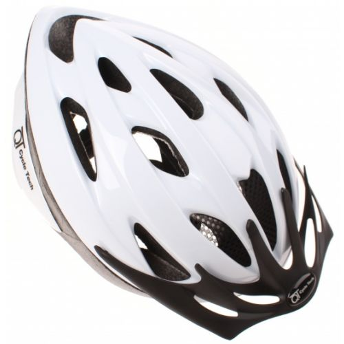 fietshelm Pearl wit 54/58 cm