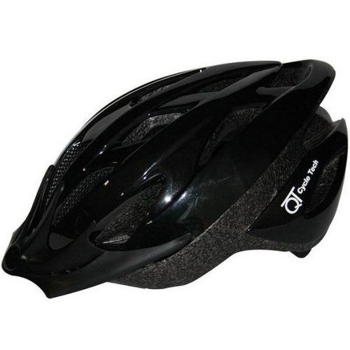 fietshelm Pearl zwart 54/58 cm