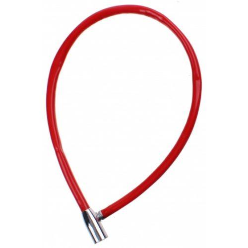 kabelslot 12 x 650 mm staal/kunststof rood