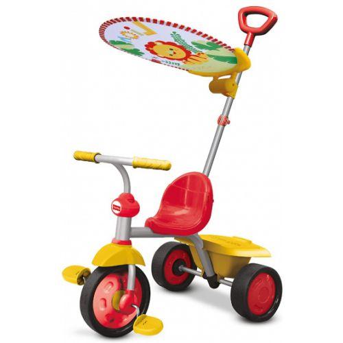 driewieler Glee Plus Junior Grijs/Geel