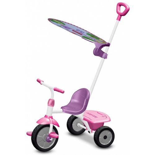 driewieler Glee Plus Meisjes Wit/Roze