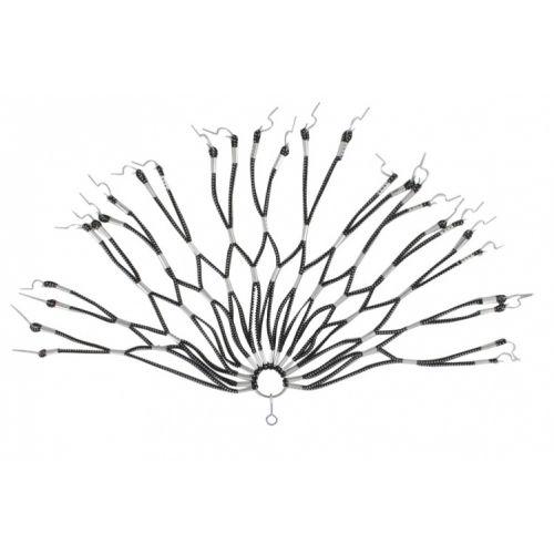 Jasbeschermer Rubber Net Zwart