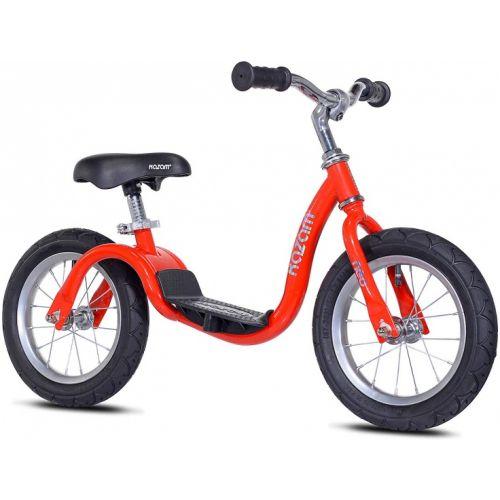 NEO v2s Balance Bike loopfiets 12 Inch Junior Rood