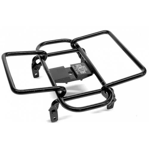 bagagerek Mini Grid stuur 14 x 14 cm staal zwart
