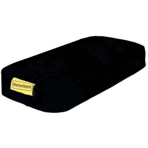bagagedragerkussen Eco zwart 32 cm