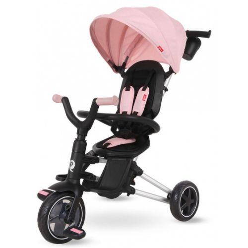 driewieler Nova 4-in-1 Meisjes Zwart/Roze