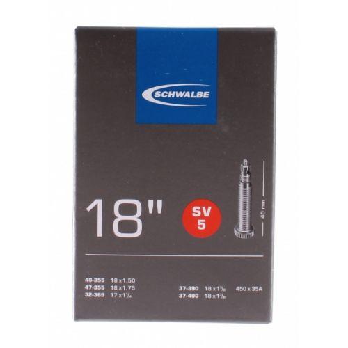 binnenband SV5 17/18 inch (40-355/37-400) FV 40 mm