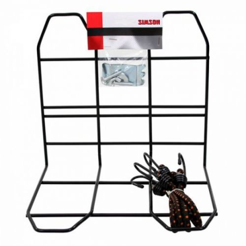 bagagerekje met spinbinder zwart