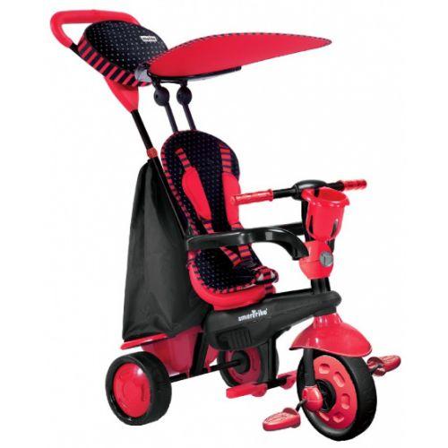 4-in-1-driewieler Spark Red Junior Rood/Zwart