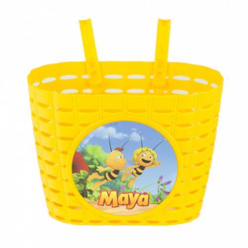 kinderfietsmand Maya de Bij junior 20 cm geel