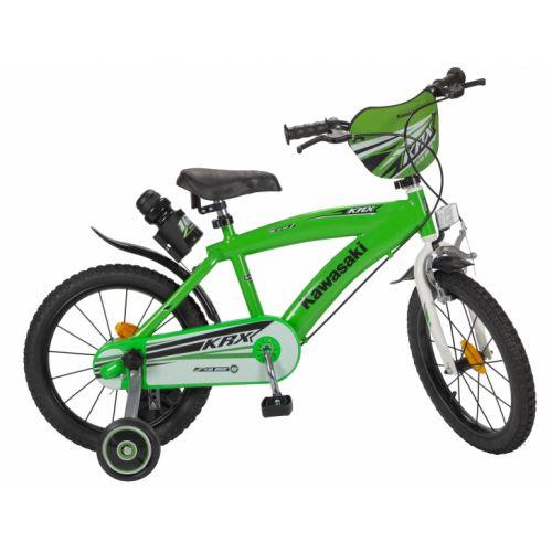 Kawasaki 16 Inch 25,4 cm Jongens Knijprem Groen