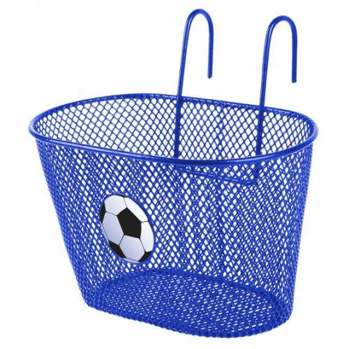 fietsmand 5 liter voetbal blauw