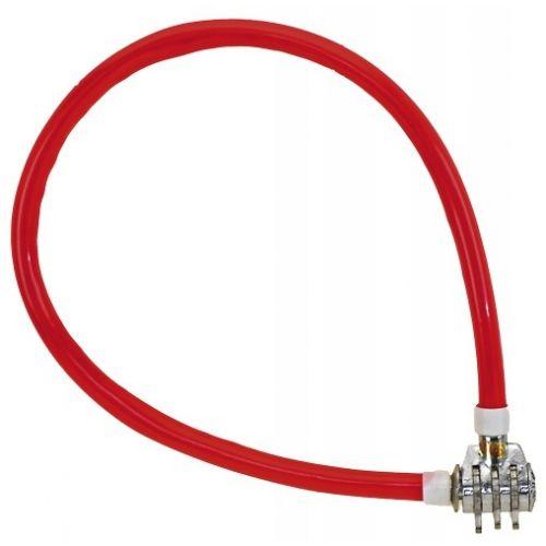 kabelslot cijfercombinatie 500 x 10 mm rood