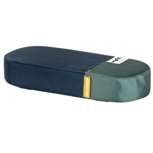 bagagedragerkussen 37 cm polyetheen blauw/groen