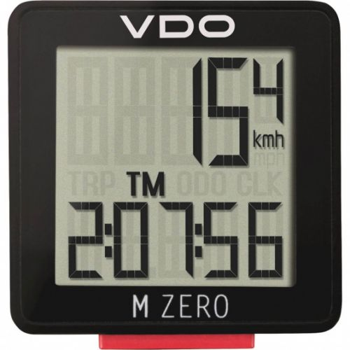 fietscomputer M Zero WR807 zwart/rood