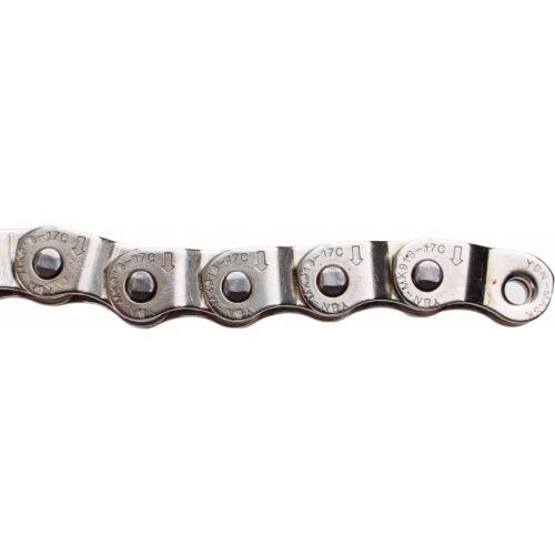 Ketting 1/2 X 1/8 BMX/FS Teflon Zilver 1SP 102 Schakels